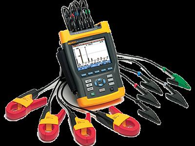 Pomiary elektryczne FLUKE