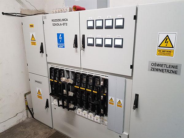 instalacje elektryczne nowa rozdzielnica ST2