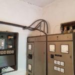 instalacje elektryczne stara rozdzielnia